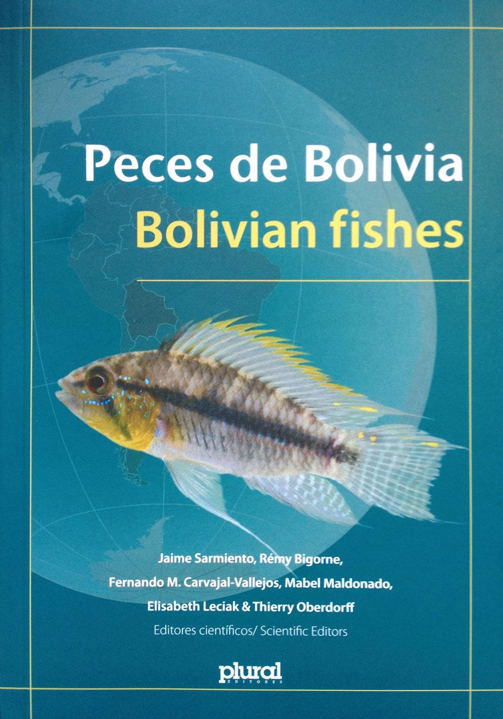 El libro Peces de Bolivia